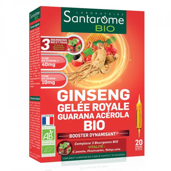 Ginseng Gelee Royale Guarana Acerola Bio