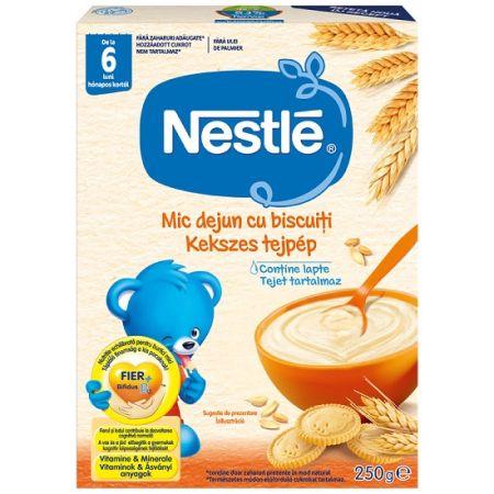 Cereale Mic dejun cu biscuiti si lapte