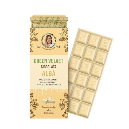 Ciocolata alba Green Velvet