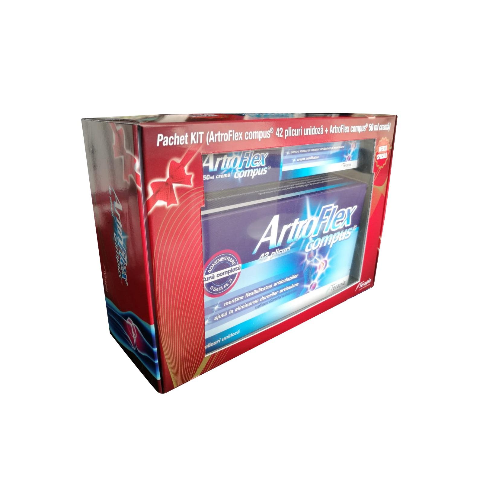 ArtroFlex compus, 90 comprimate, Terapia : Farmacia Tei online