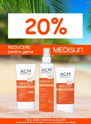 20% Medisun Septembrie-Octombrie 2021