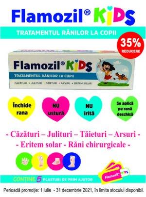 35% Flamozil Kids 1.07-31.12.2021