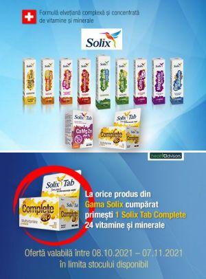cu produs promotinal Solix