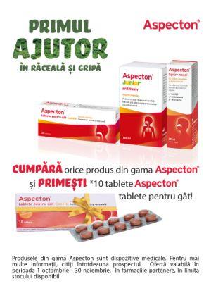 cu produs promotional Aspecton