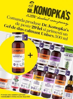 Cu produs promotional la Dr. Konokas