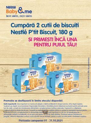 Cu produs promotional la Nestle