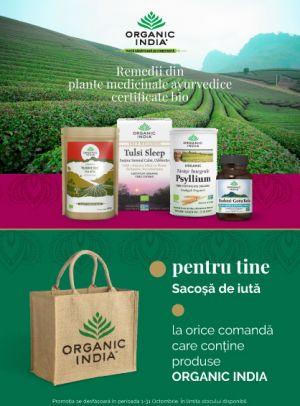 cu Produs Promotional la Organic India