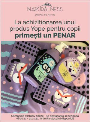Cu produs promotional  la Yope