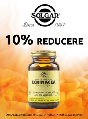 cu reducere 10% la Solgar