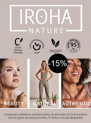 Cu reducere 15% la Iroha