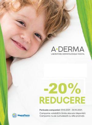 Cu reducere 20% la A-Derma