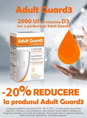 Cu reducere 20% la Adult Guard