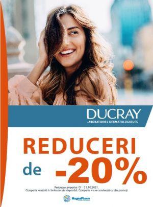 Cu reducere 20% la Ducray