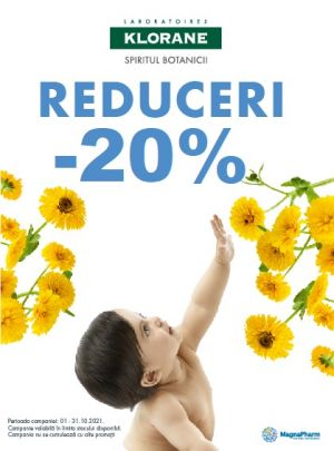 Cu reducere 20% la Klorane Bebe