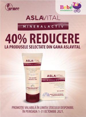Cu reducere 40% la Aslavital