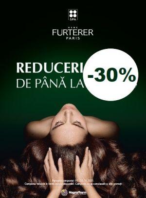 Cu reducere de pana la 30% la Rene Furterer