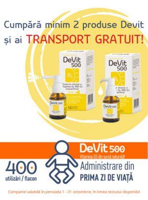 cu transport gratuit Devit 500