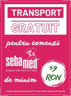 Cu transport gratuit la Sebamed