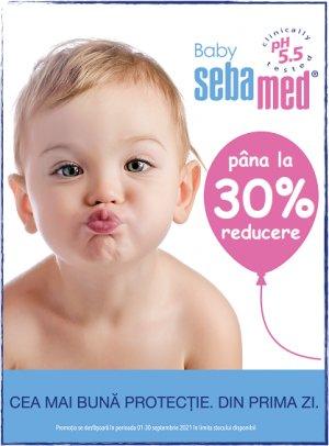 SebaMed Baby Reducere de pret pana la 30%