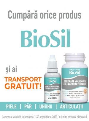 Transport Gratuit Biosil 1.09-30.09.2021