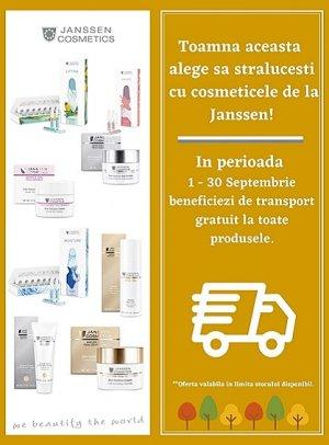 Transport Gratuit Janssen Cosmetics 1-30 Septembrie 2021