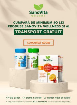 transport gratuit la Sanovita Wellness