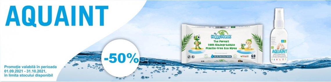 50% Aquaint Septembrie - Octombrie 2021