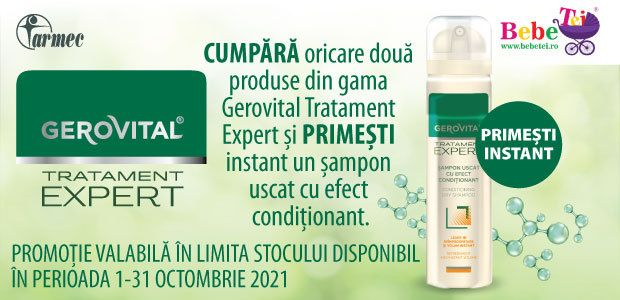 Cu produs promotional la Gerovital Tratament Expert