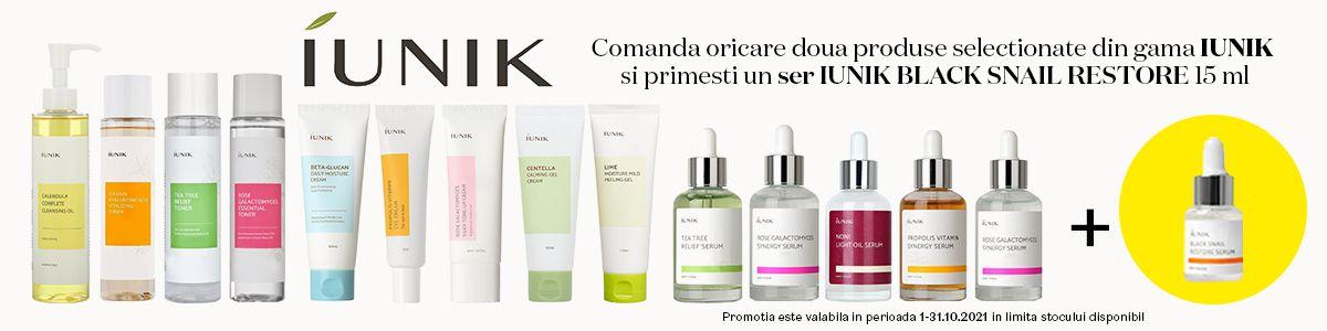 Cu produs promotional la Iunik