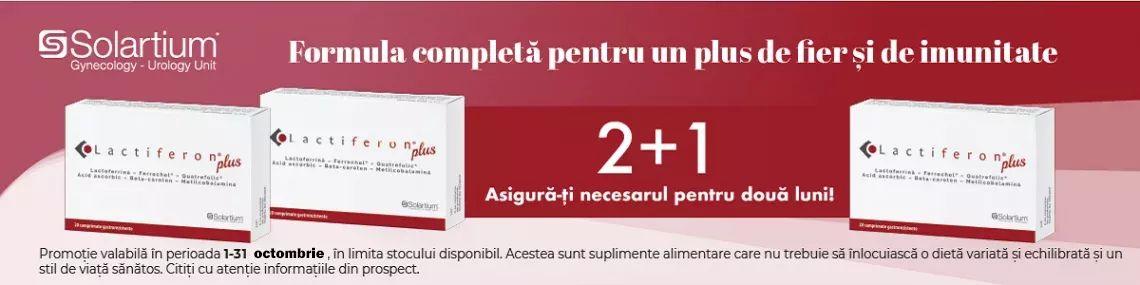 Cu produs promotional la Lactiferon