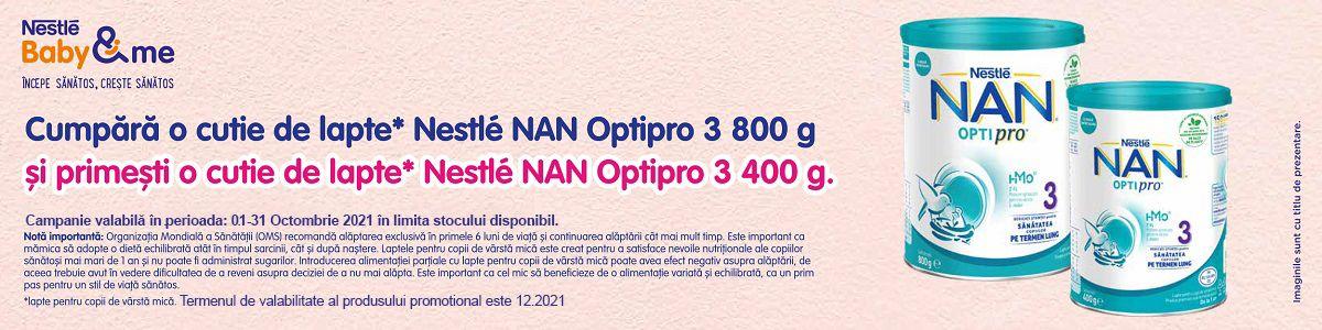 Cu produs promotional la Nan 3