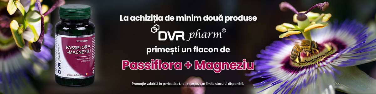 cu produs promotional Passiflora+Magneziu