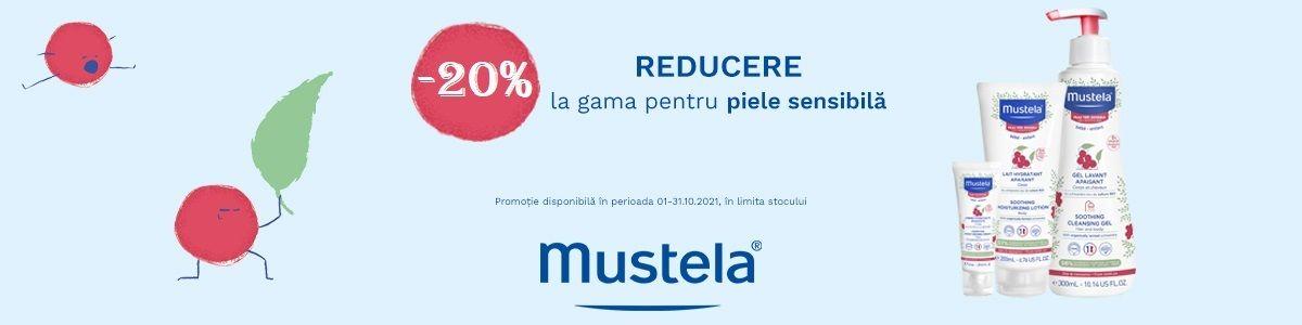 Cu reducere 20% la Mustela