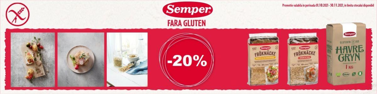 Cu reducere 20% la Semper