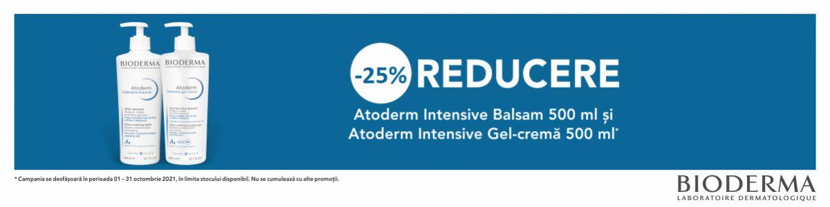 Cu reducere 25% la Bioderma