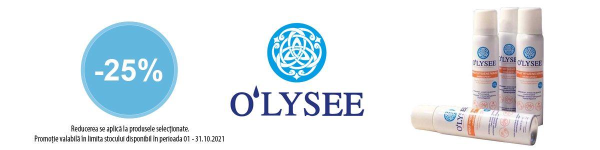 Cu reducere 25% la O'Lysee