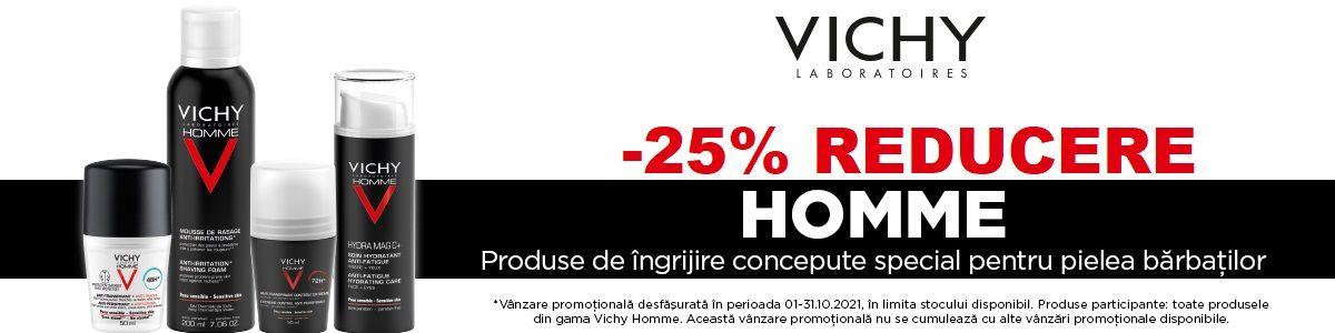 Cu reducere 25% la Vichy Home