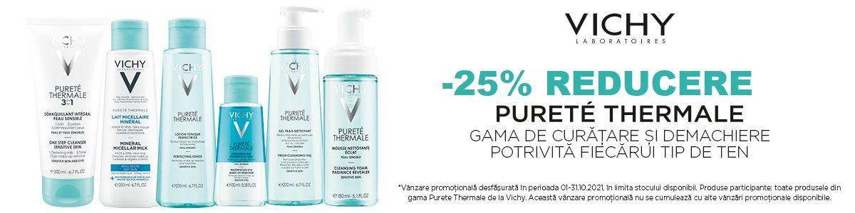 Cu reducere 25% la Vichy Purete Thermele