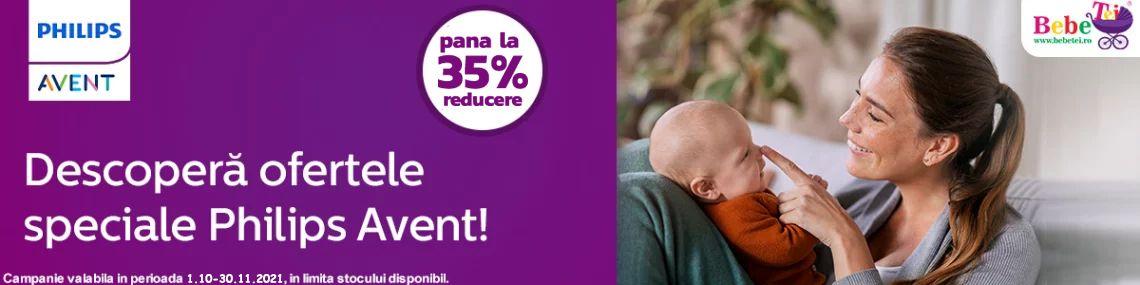 cu reducere la de pana la 35% la Philips