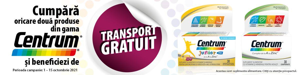 transport gratuit Centrum