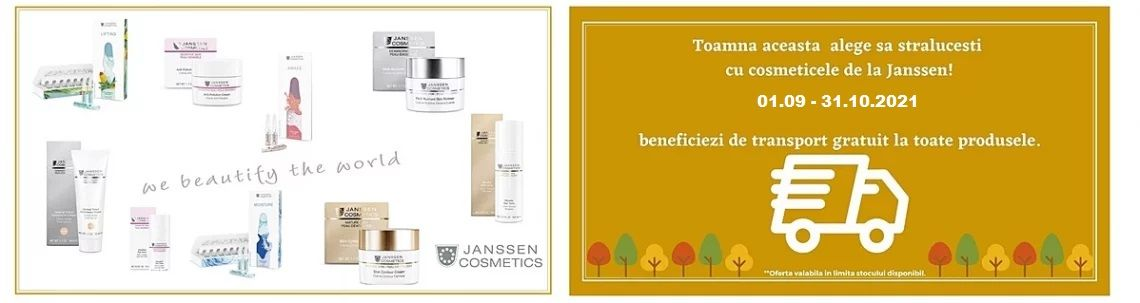 Transport Gratuit Janssen Cosmetics