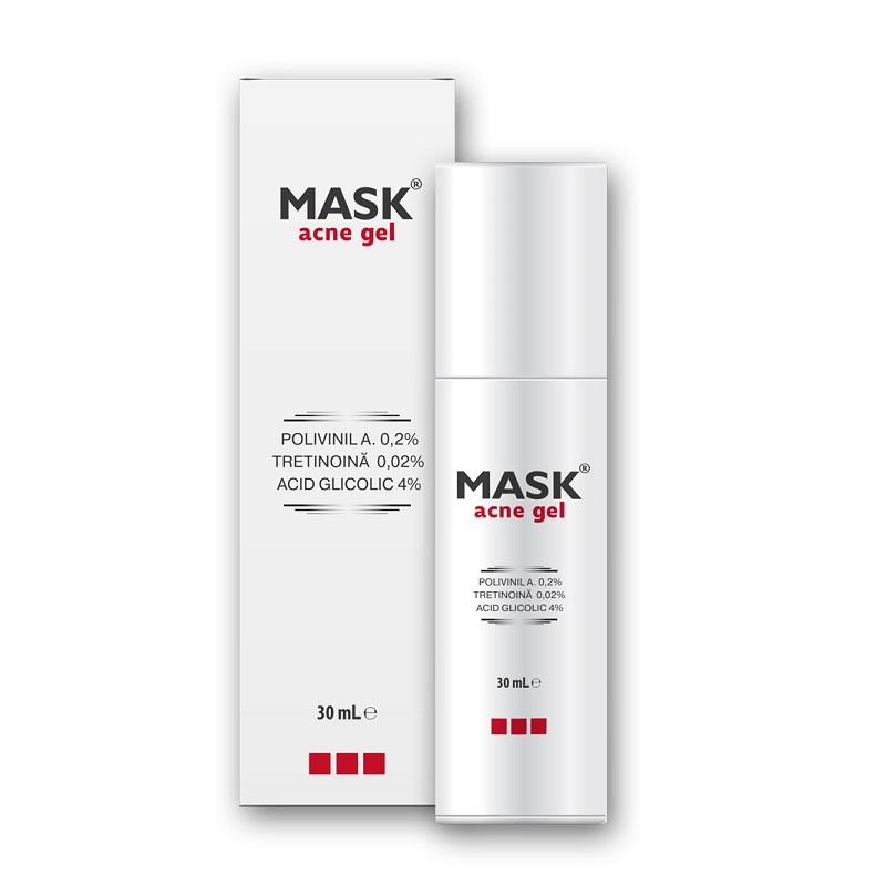 Mask gel pentru tratamentul comedoanelor închise și deschise, 30 ml, Solartium Group
