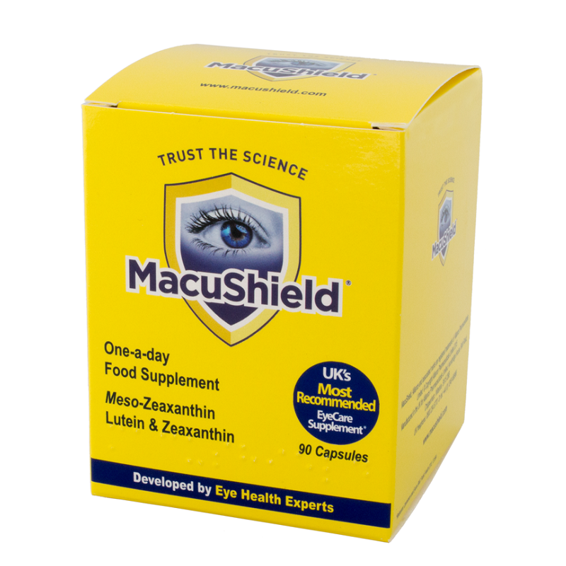 MacuShield, 90 capsule, Macuvision