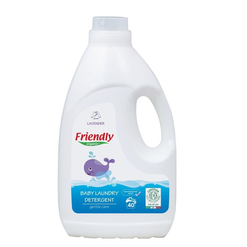 Detergent lichid, 2000 ml, Friendly Organic