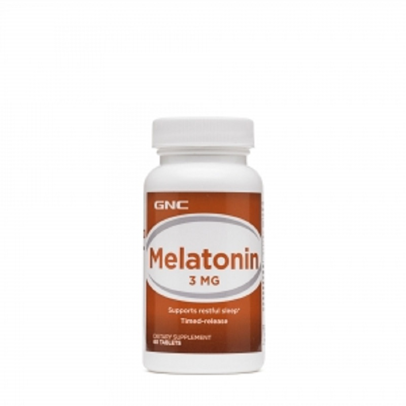 Melatonina 3mg, 60 tablete, GNC