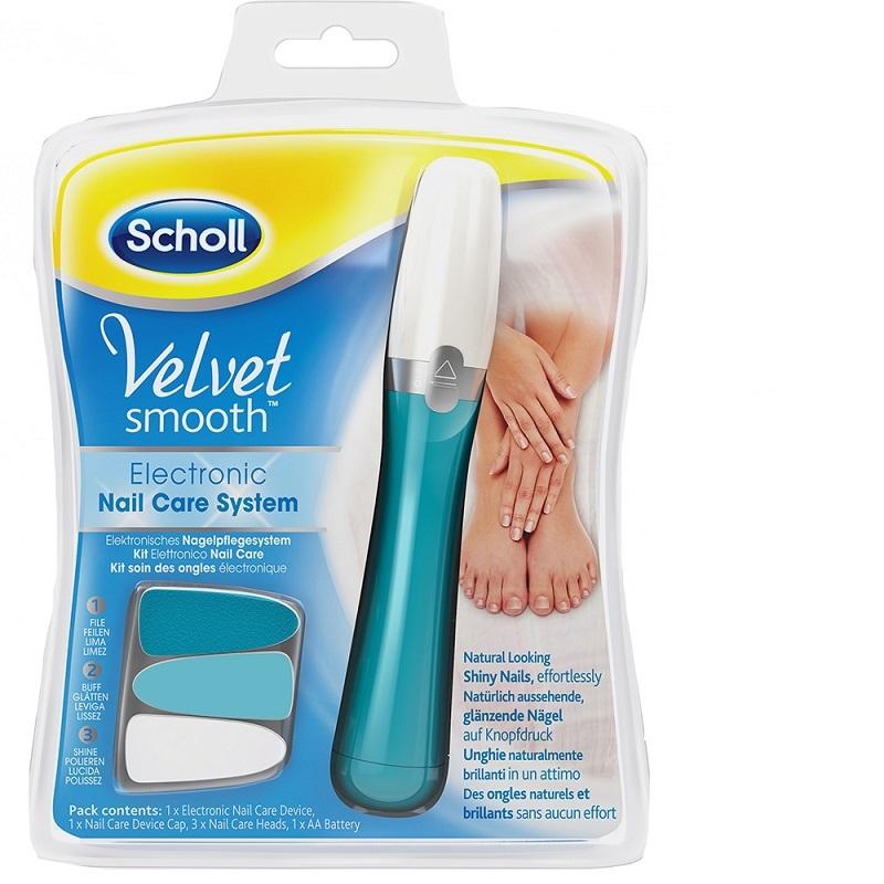 Sistem electronic de îngrijire a unghiilor, Velvet Smooth, Scholl