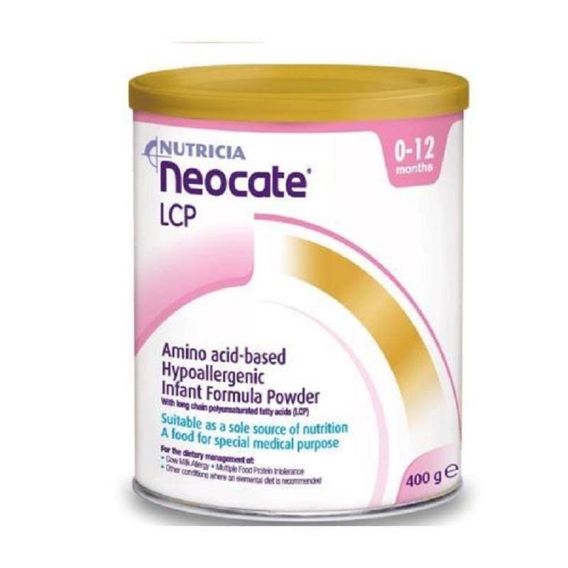 Neocate LCP Formulă lapte praf, Gr. 0-12 luni, 400 g, Nutricia Zoetemeer