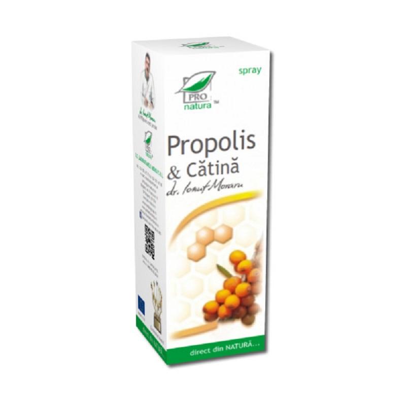 Spray cu propolis și cătina, 50 ml, Pro Natura