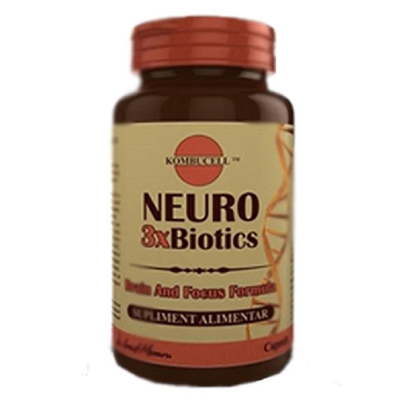 Kebucell Neuro 3xbiotics, 40 capsule, Pro Natura