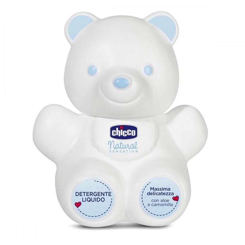 Lichid de curățare în formă de Ursuleț, Natural Sensation, 300 ml, Chicco